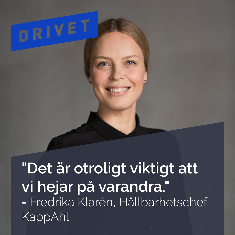 No. 39 - Fredrika Klarén - Hållbarhetschef KappAhl