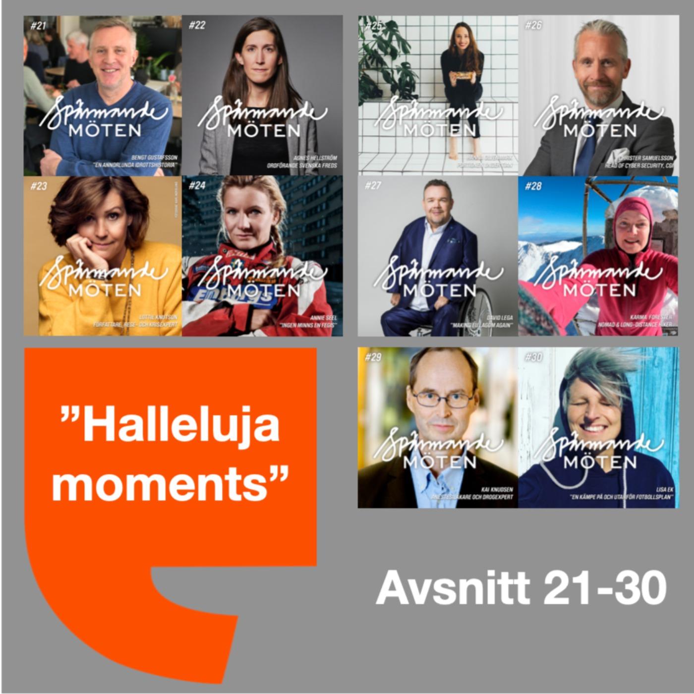 Halleluja moments avsnitt 21-30