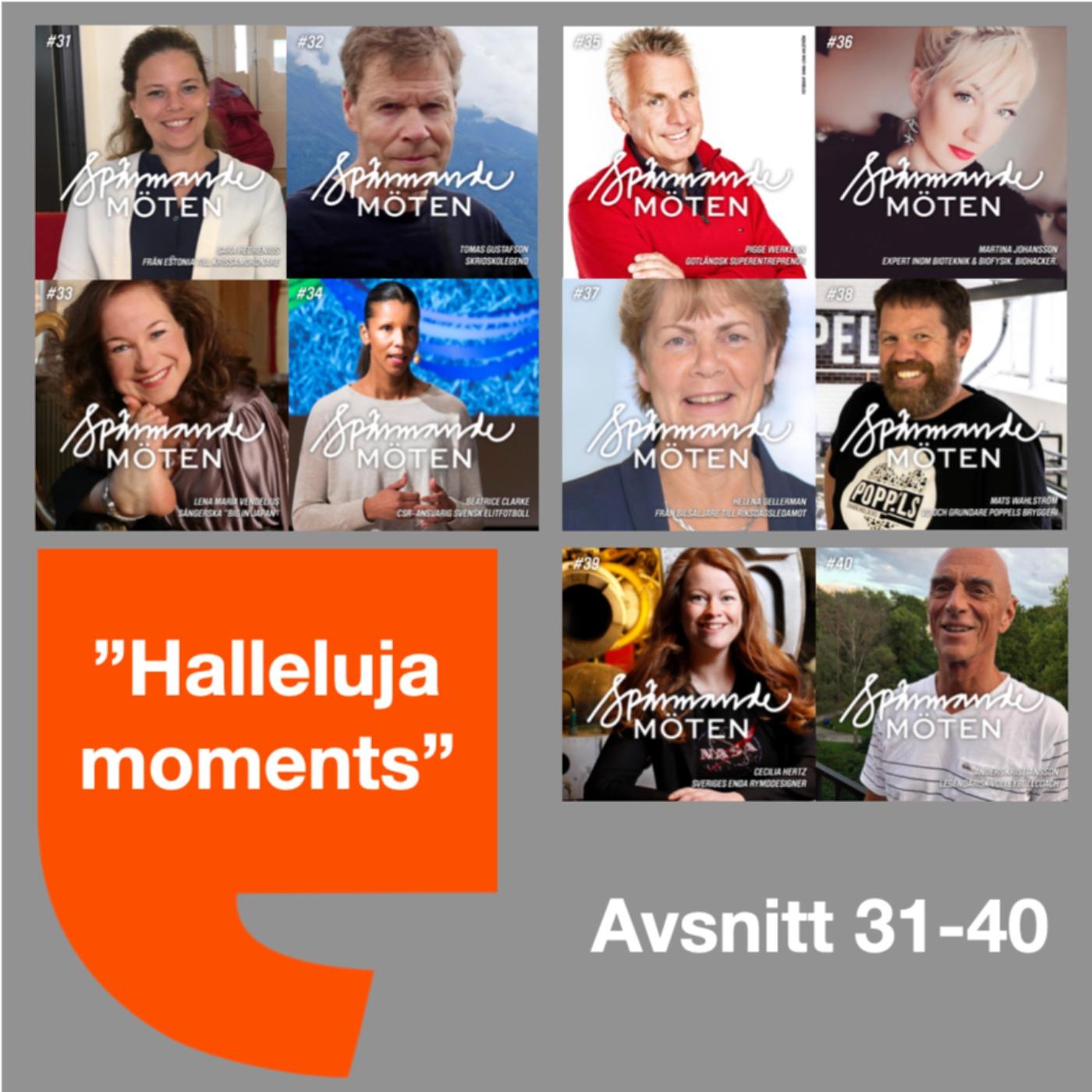 Halleluja moments avsnitt 31-40
