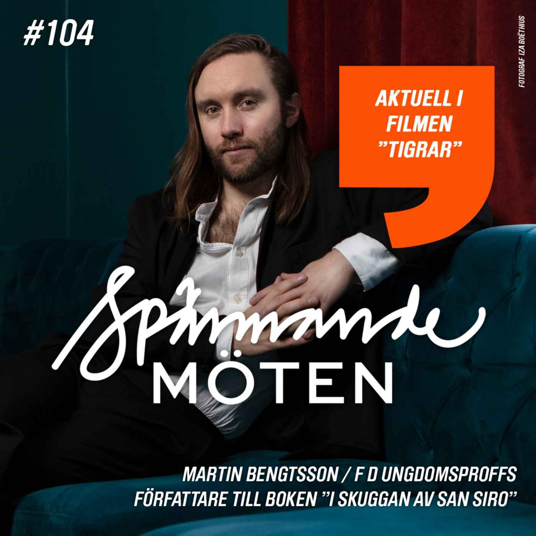 """Martin Bengtsson, f d ungdomsproffs, författare till boken """"I skuggan av San Siro"""""""