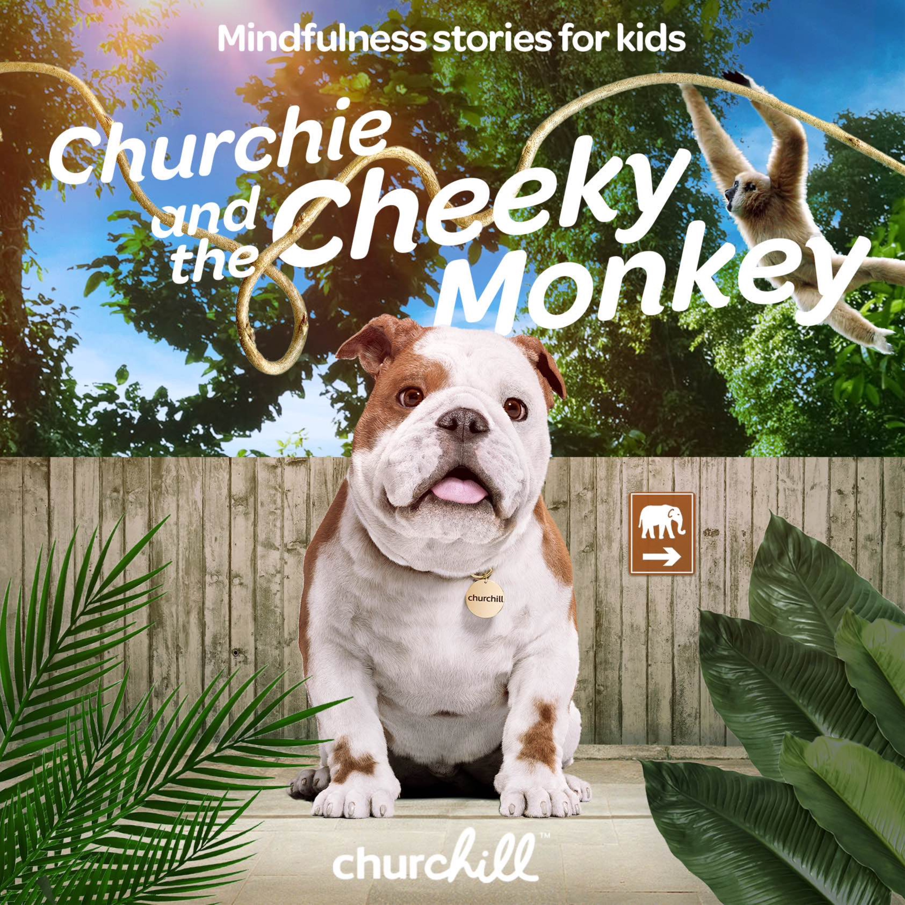 Churchie and the Cheeky Monkey