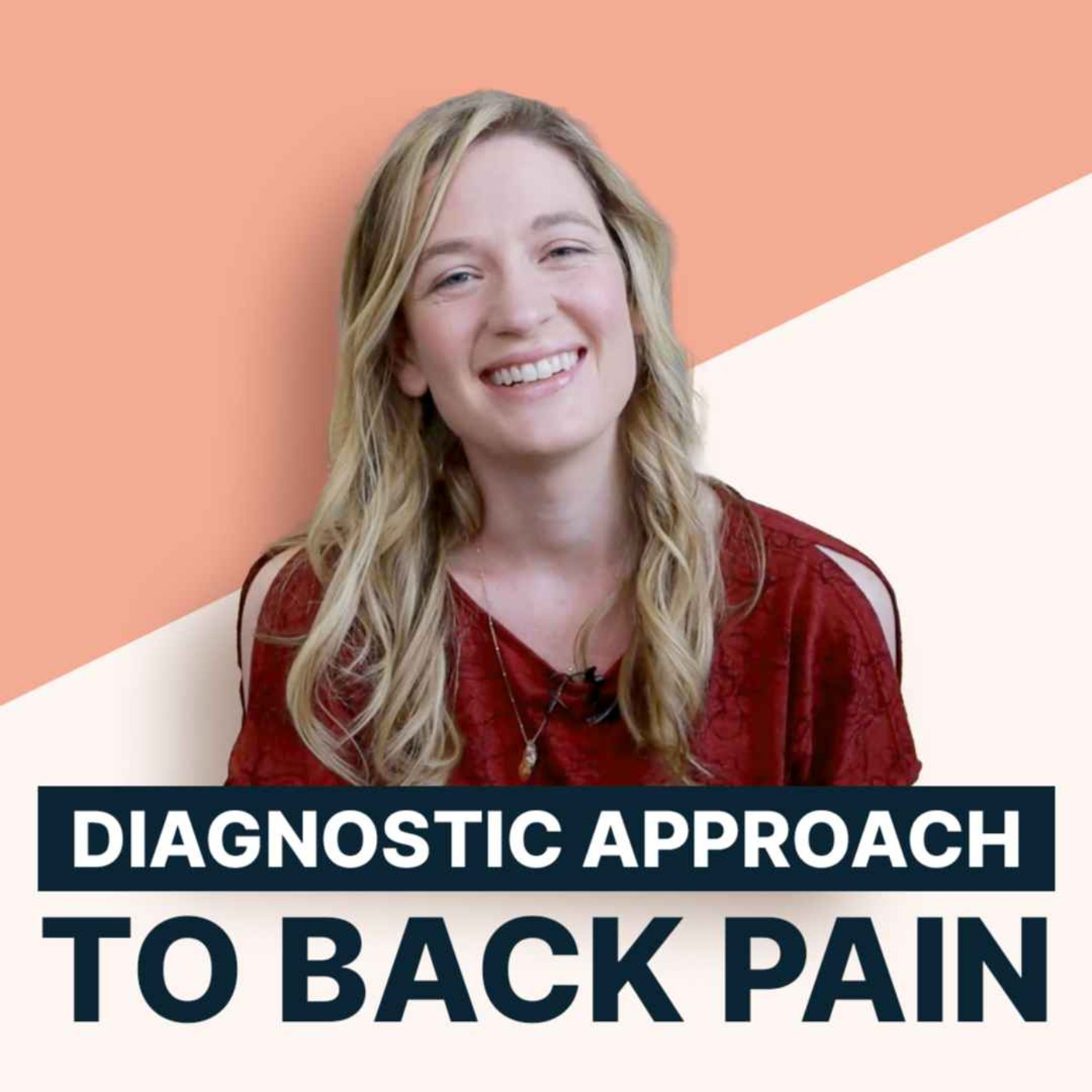 Diagnostic approach to back pain