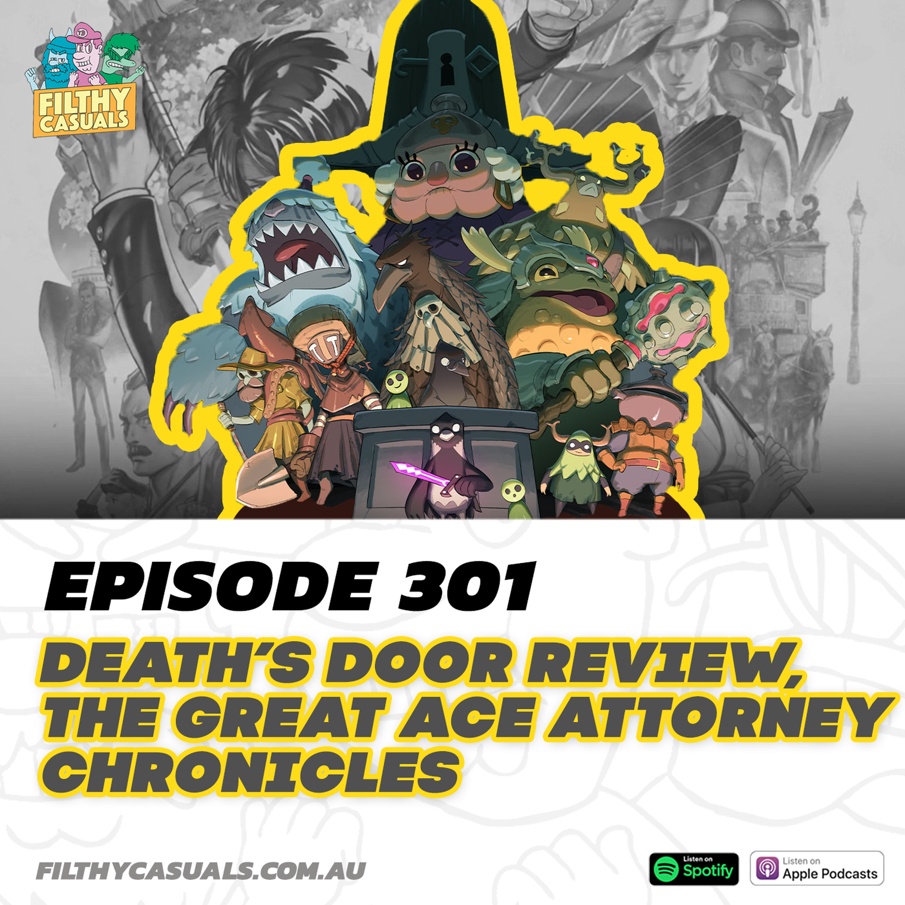 Episode 301: Death's Door Review, The Great Ace Attorney Chronicles