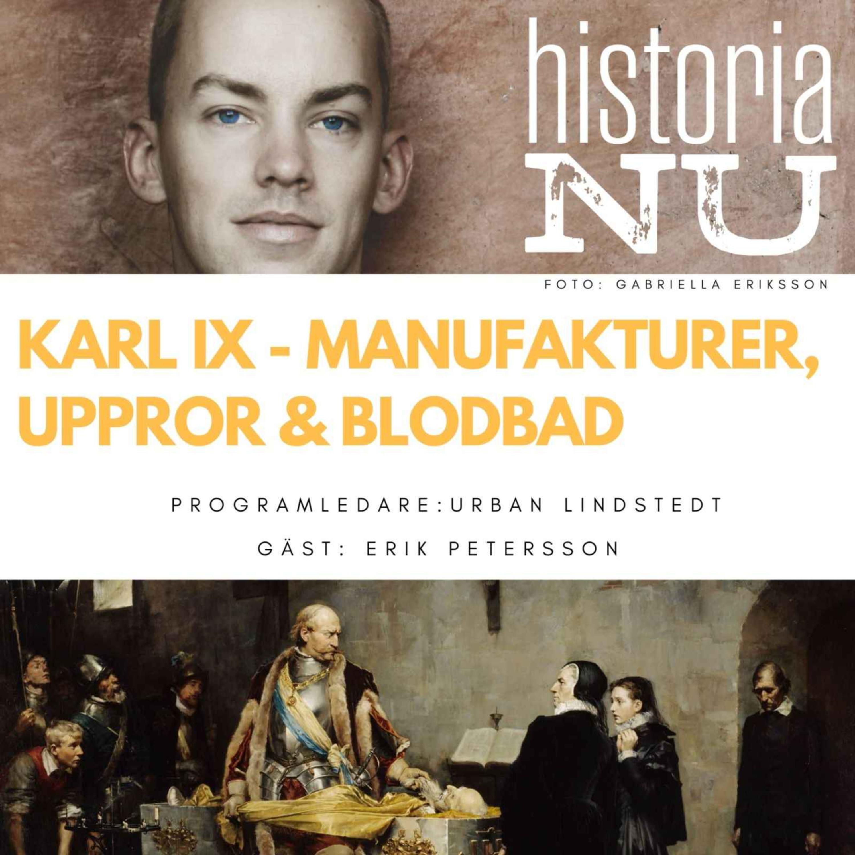 Karl IX:s uppror, blodbad och manufakturer