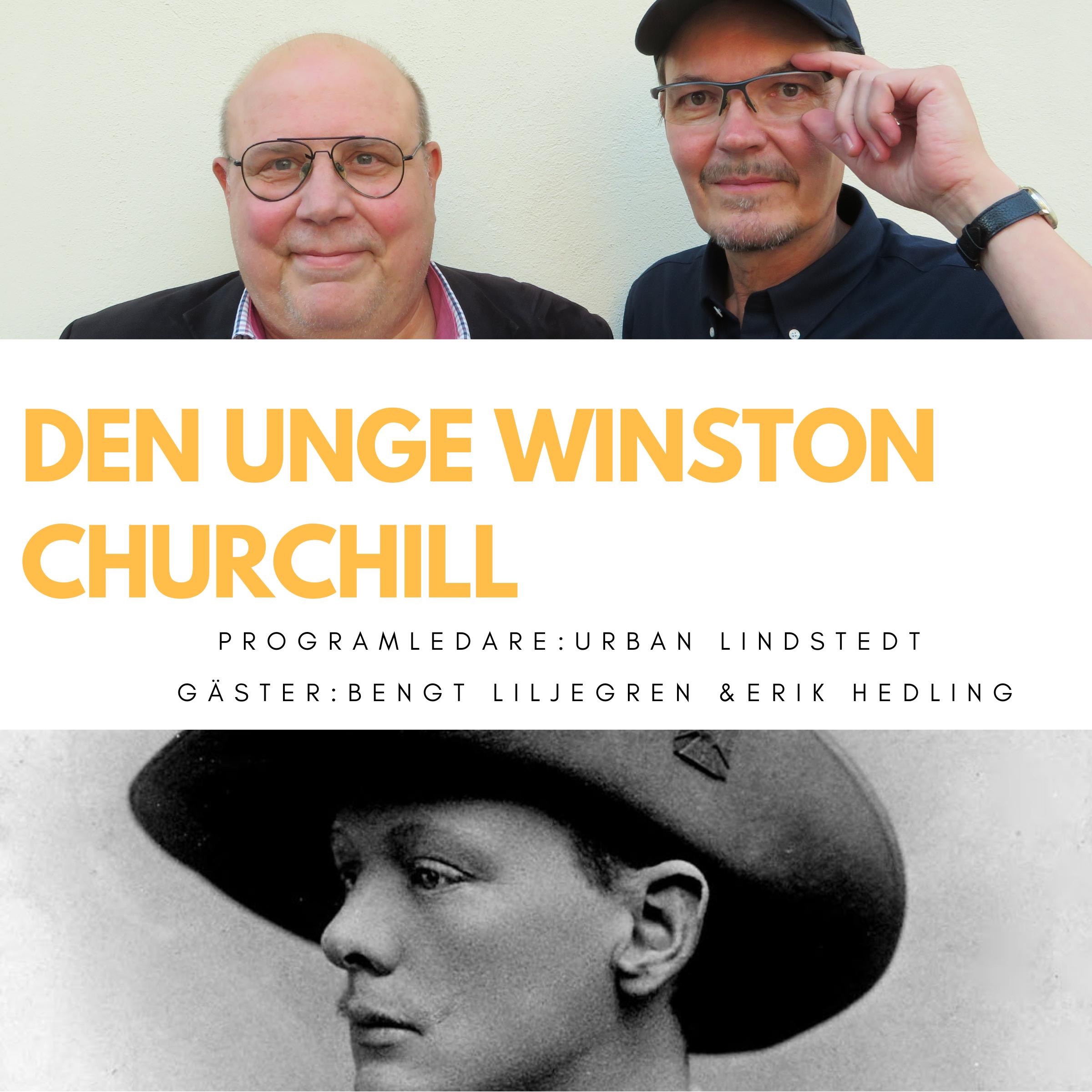 Ingen lyckades kuva den unge Winston Churchill (nymixad repris)