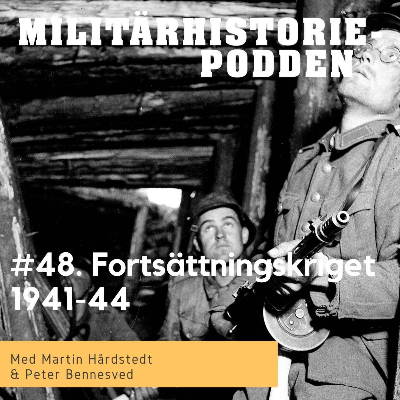Fortsättningskriget – den finska alliansen med nazityskland