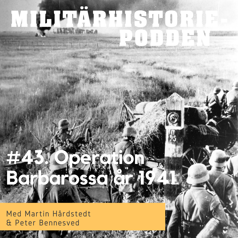 Barbarossa år 1941 – Hitlers fälttåg österut