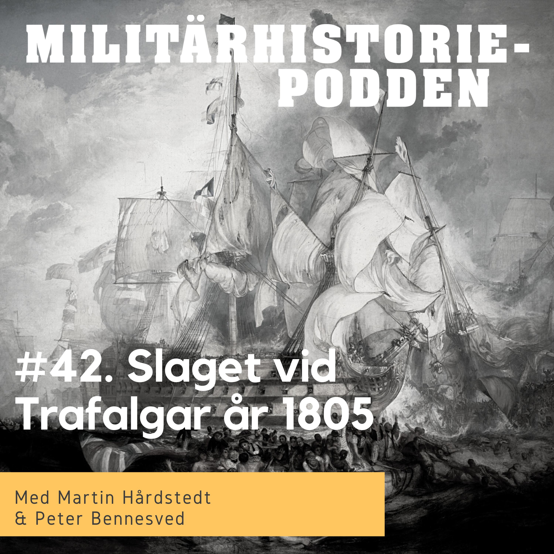 Slaget vi Kap Trafalgar år 1805 inledde britternas dominans på haven