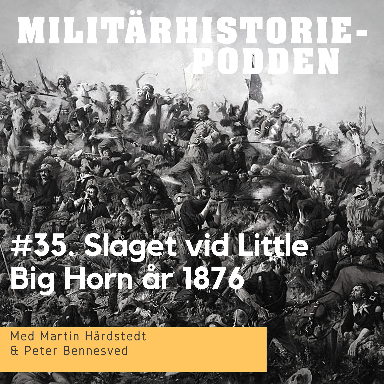 Slaget vid Little Big Horn år 1876 – Custers sista strid