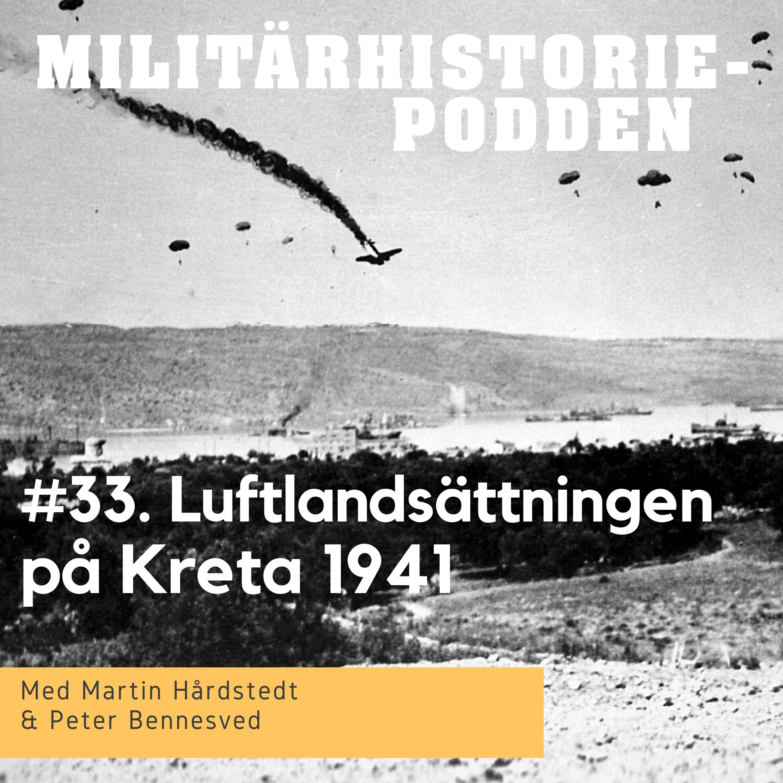 Operation Merkurius - Luftlandsättningen på Kreta år 1941