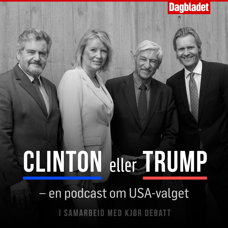 Trump eller Clinton? - en podcast om USA-valget