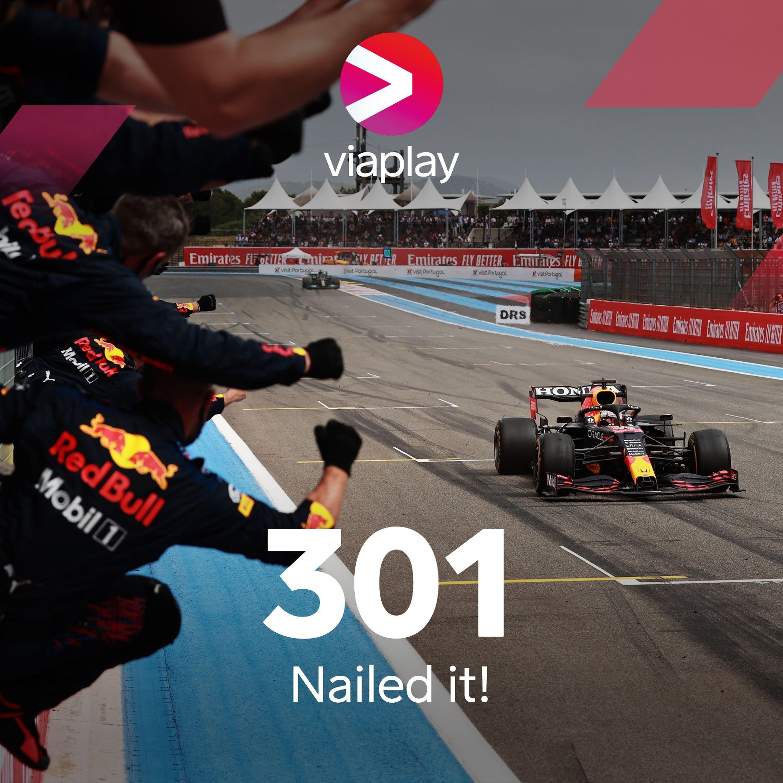 301. Nailed it!