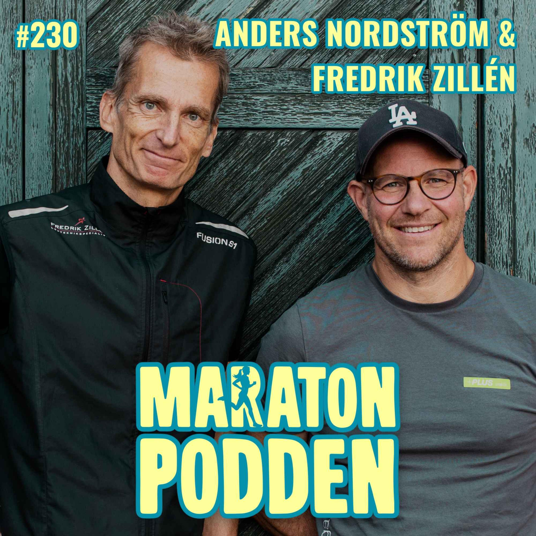#230: Anders Nordström & Fredrik Zillén, Sveriges främsta löpargurus möts