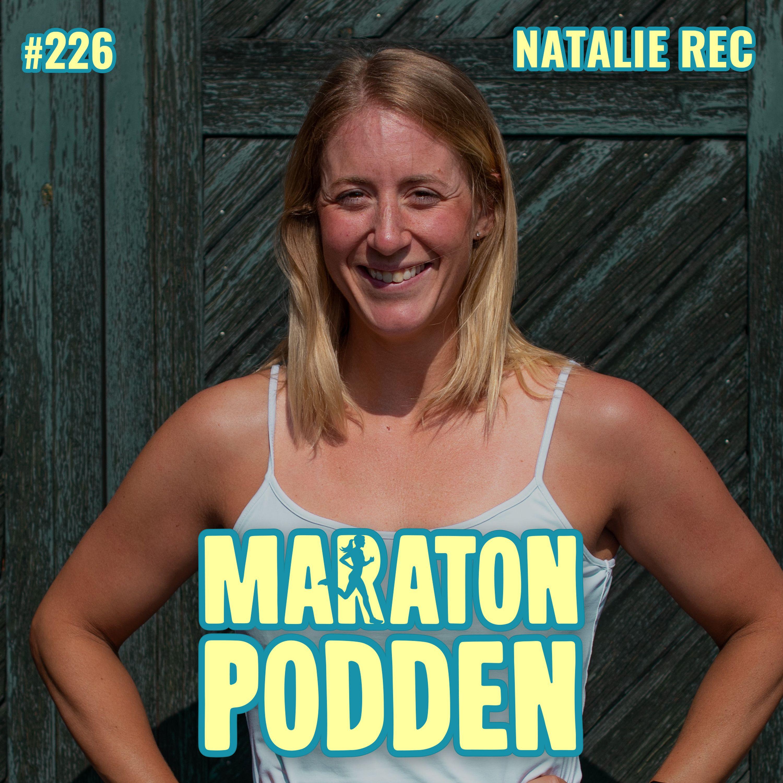 #226: Natalie Rec, från ständigt bakis partypingla till elittriathlet