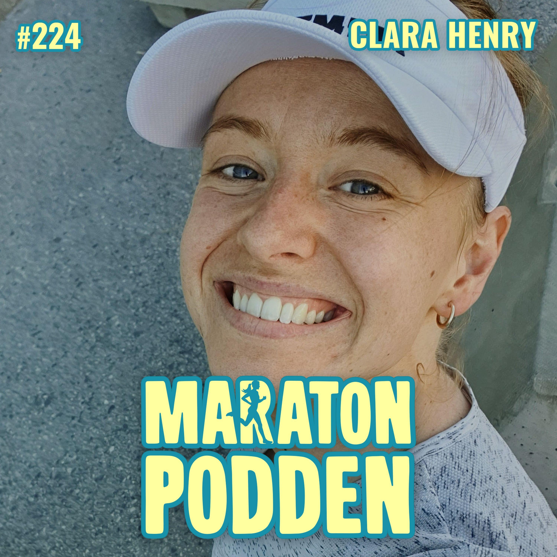 #224: Clara Henry, trött på att behöva ursäkta sig som löpare