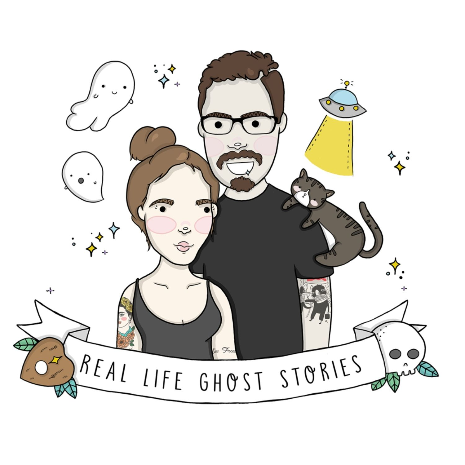 Real Life Ghost Stories podcast