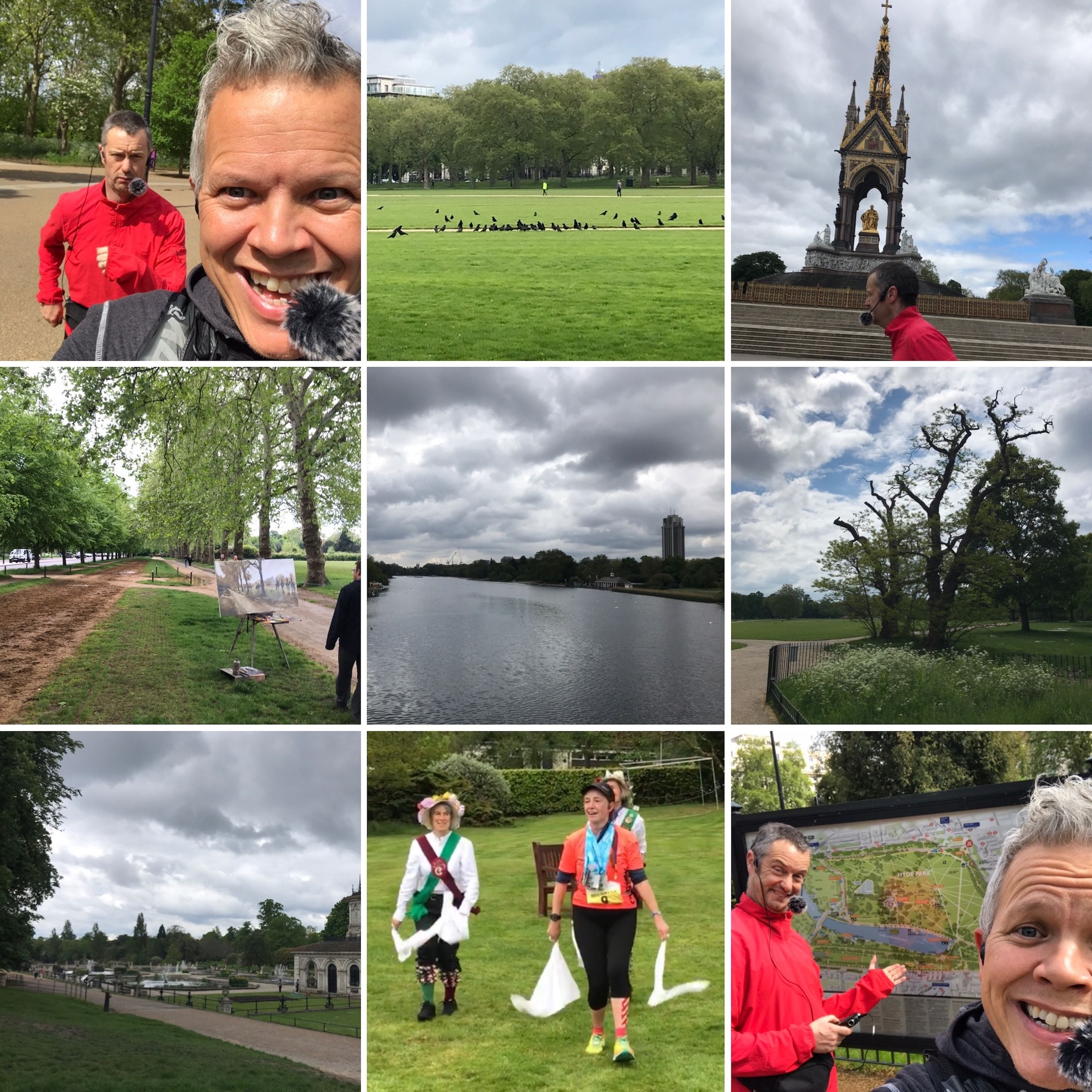 Hyde Park, Kensington Gardens and Ten Times Round Lake Windermere