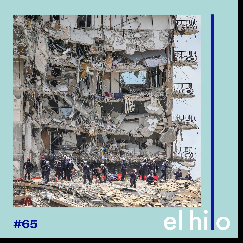 Doce pisos, doce segundos: el derrumbe de Miami