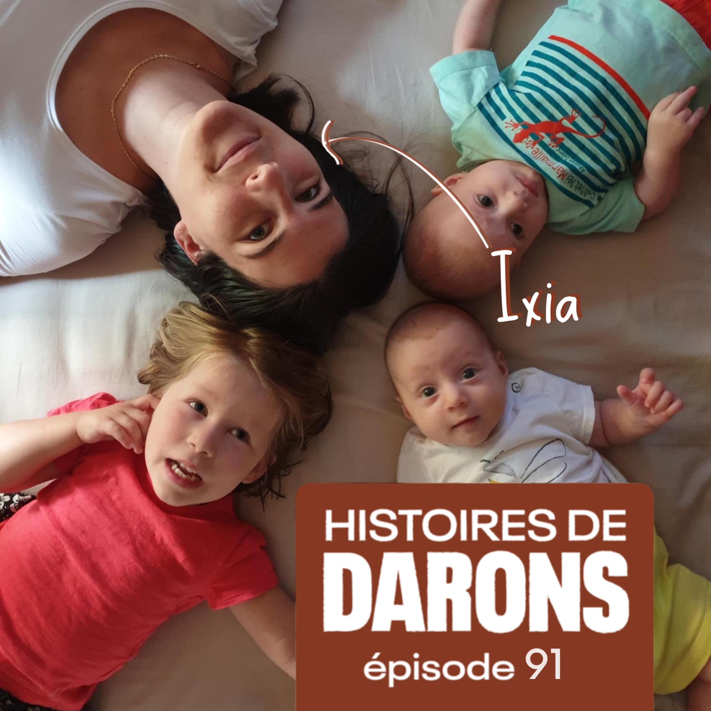 Ixia, de femme enceinte à co-parent