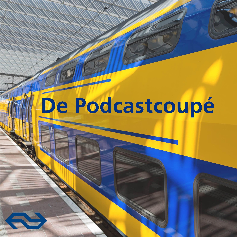 De Podcastcoupé logo